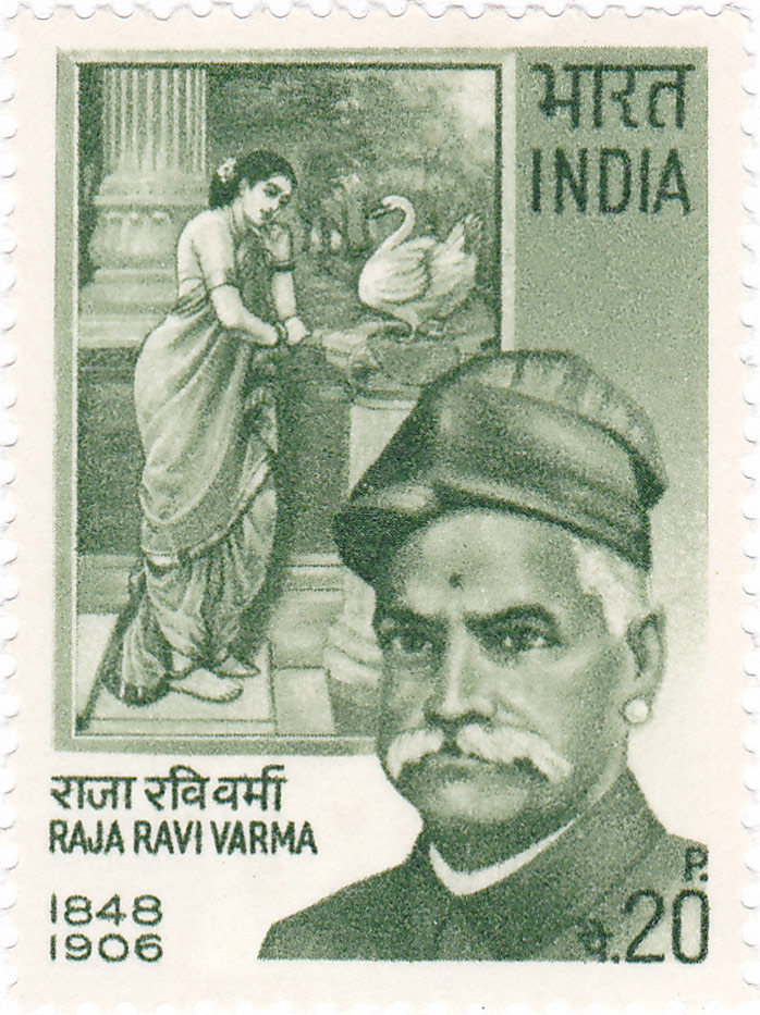 Raja Ravi Varma (29 April 1848 – 2 October 1906) was a celebrated Indian painter and artist.